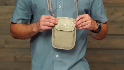 Eagle Creek RFID Blocker Neck Wallet - image 10 from the video