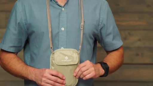 Eagle Creek RFID Blocker Neck Wallet - image 6 from the video