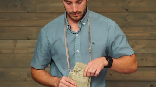 Eagle Creek RFID Blocker Neck Wallet - image 7 from the video