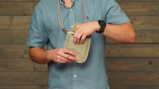 Eagle Creek RFID Blocker Neck Wallet - image 8 from the video