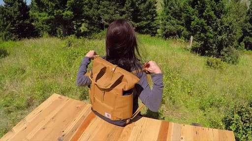 Carhartt Women's Backpack Hybrid - image 10 from the video