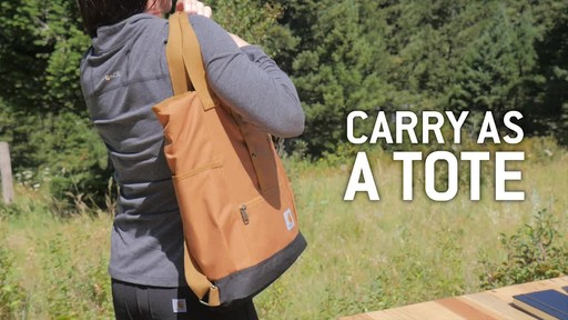 Carhartt Women's Backpack Hybrid - image 3 from the video