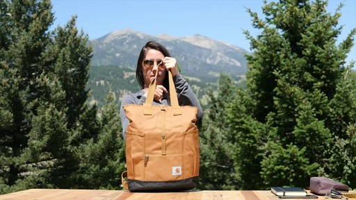 Carhartt Women's Backpack Hybrid - image 4 from the video