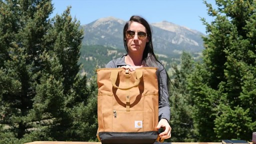 Carhartt Women's Backpack Hybrid - image 5 from the video