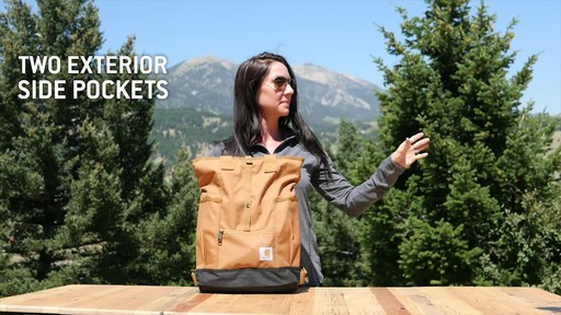 Carhartt Women's Backpack Hybrid - image 6 from the video