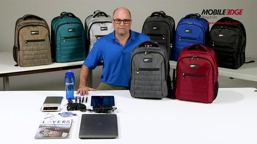 Mobile Edge SmartPack Laptop Backpack - image 3 from the video