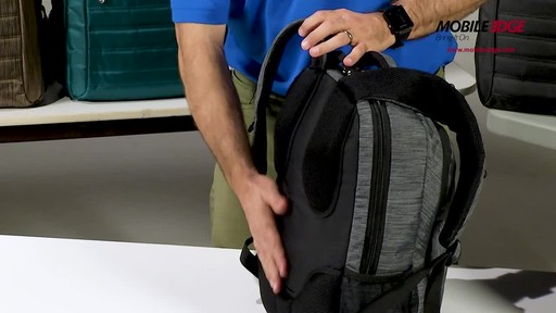 Mobile Edge SmartPack Laptop Backpack - image 5 from the video