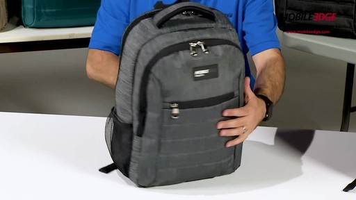 Mobile Edge SmartPack Laptop Backpack - image 6 from the video