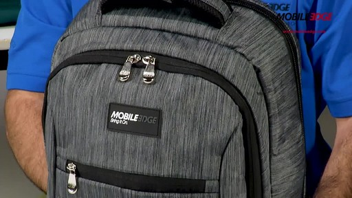 Mobile Edge SmartPack Laptop Backpack - image 7 from the video