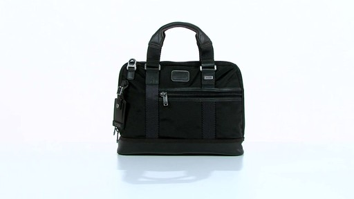 Tumi Alpha Bravo Earle Compact Brief - image 10 from the video