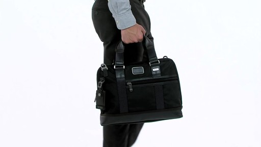 Tumi Alpha Bravo Earle Compact Brief - image 3 from the video