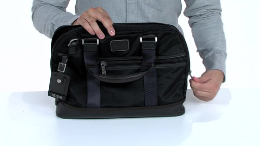 Tumi Alpha Bravo Earle Compact Brief - image 4 from the video