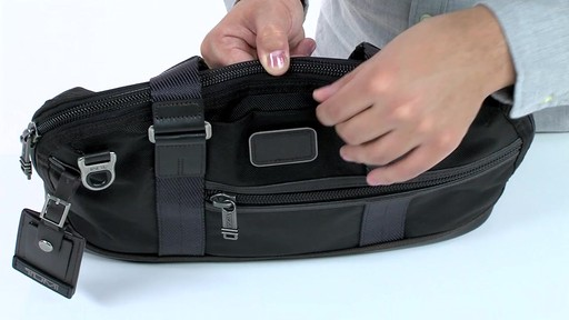 Tumi Alpha Bravo Earle Compact Brief - image 7 from the video