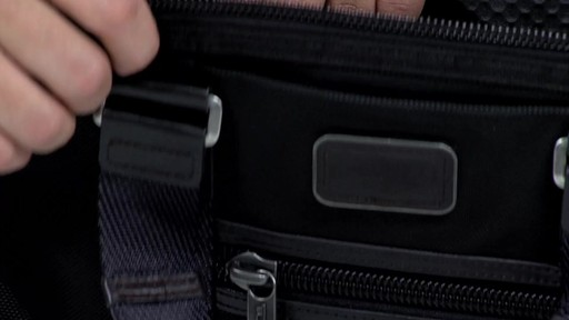Tumi Alpha Bravo Earle Compact Brief - image 9 from the video
