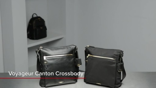 Tumi Voyageur Canton Leather Crossbody - image 1 from the video