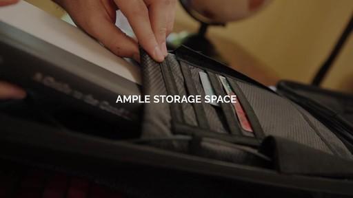 TRAKK Shell Weatherproof Bluetooth Speaker & Power Charging Backpack - image 2 from the video