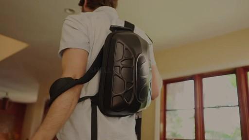 TRAKK Shell Weatherproof Bluetooth Speaker & Power Charging Backpack - image 5 from the video