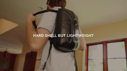 TRAKK Shell Weatherproof Bluetooth Speaker & Power Charging Backpack - image 6 from the video