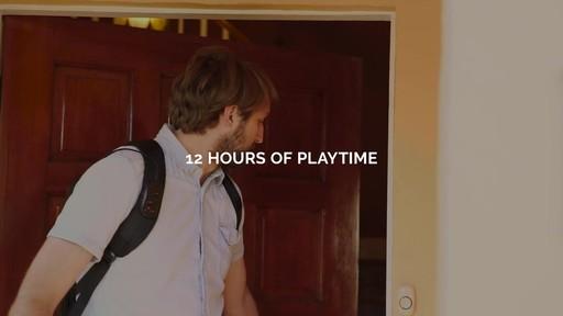 TRAKK Shell Weatherproof Bluetooth Speaker & Power Charging Backpack - image 9 from the video