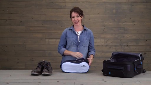 Eagle Creek Pack-It Specter Tech Shoe Cube - image 9 from the video