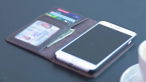 Twelve South BookBook Leather Wallet for iPhone  - image 4 from the video