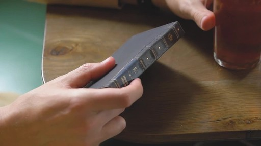 Twelve South BookBook Leather Wallet for iPhone  - image 8 from the video