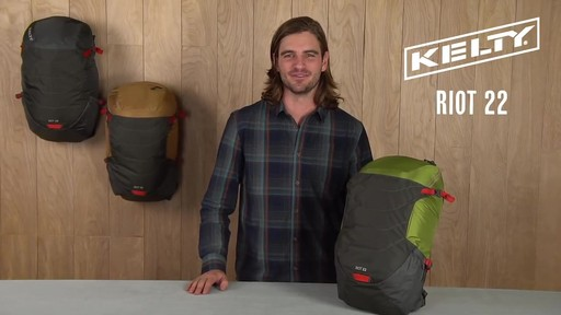 Kelty Riot 22 Hiking Backpack - image 1 from the video