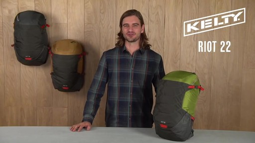 Kelty Riot 22 Hiking Backpack - image 10 from the video