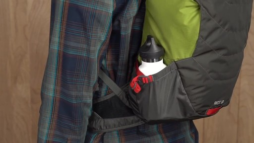 Kelty Riot 22 Hiking Backpack - image 6 from the video
