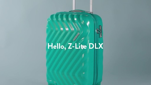American Tourister Z-Lite DLX Spinner Luggage Collection - image 1 from the video