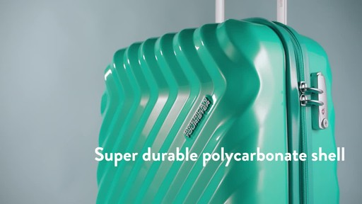 American Tourister Z-Lite DLX Spinner Luggage Collection - image 2 from the video