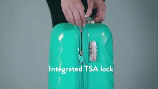 American Tourister Z-Lite DLX Spinner Luggage Collection - image 6 from the video