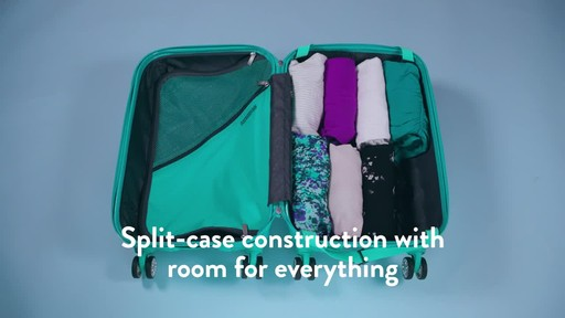 American Tourister Z-Lite DLX Spinner Luggage Collection - image 7 from the video