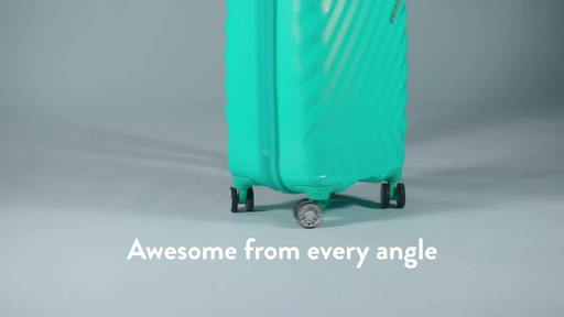 American Tourister Z-Lite DLX Spinner Luggage Collection - image 8 from the video