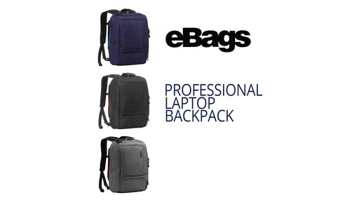 How to Stay Organized While Traveling with eBags Professional Slim Jr Laptop Backpack - image 1 from the video