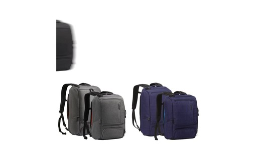 How to Stay Organized While Traveling with eBags Professional Slim Jr Laptop Backpack - image 10 from the video