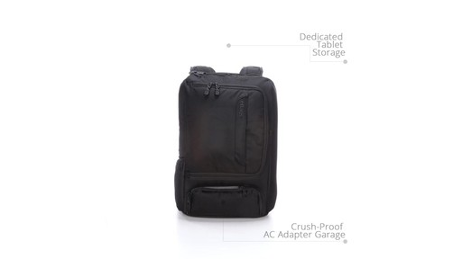 How to Stay Organized While Traveling with eBags Professional Slim Jr Laptop Backpack - image 2 from the video