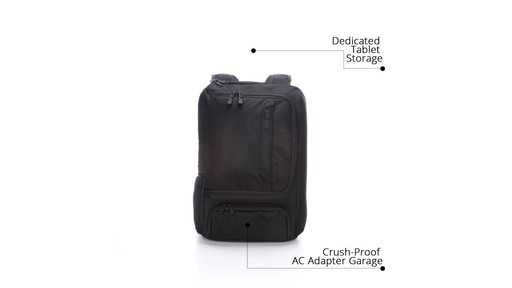 How to Stay Organized While Traveling with eBags Professional Slim Jr Laptop Backpack - image 3 from the video