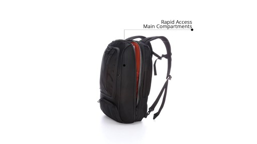 How to Stay Organized While Traveling with eBags Professional Slim Jr Laptop Backpack - image 5 from the video