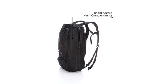 How to Stay Organized While Traveling with eBags Professional Slim Jr Laptop Backpack - image 6 from the video