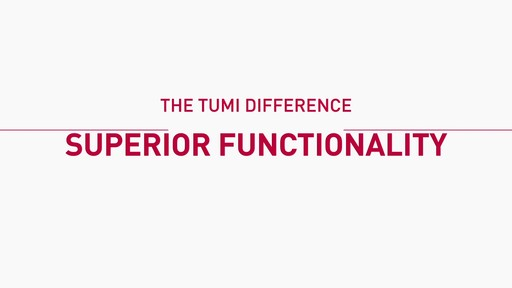 The Tumi Difference - Function - image 2 from the video