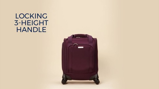 Samsonite Spinner Underseater with USB Port - eBags Exclusive - image 1 from the video