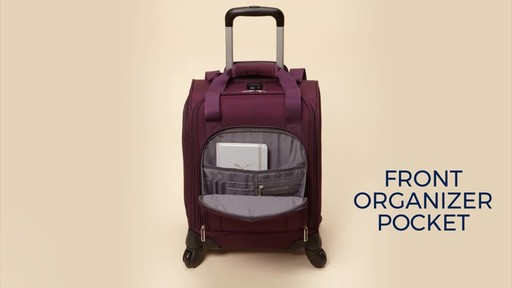 Samsonite Spinner Underseater with USB Port - eBags Exclusive - image 8 from the video