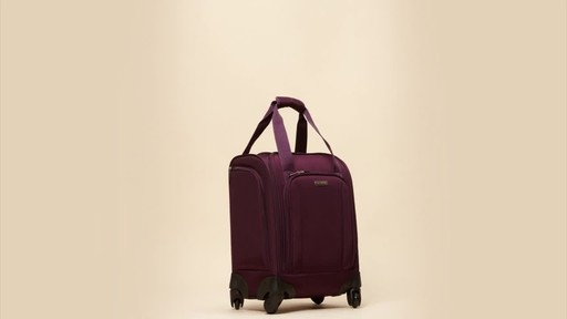 Samsonite Spinner Underseater with USB Port - eBags Exclusive - image 9 from the video