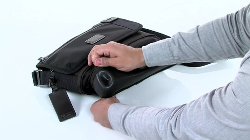 Tumi Alpha Bravo Beale Cross body - image 6 from the video