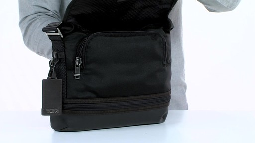 Tumi Alpha Bravo Beale Cross body - image 7 from the video