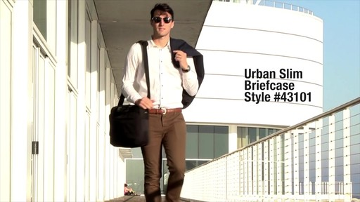 Travelon Anti-Theft Urban Messenger Briefcase - eBags.com - image 1 from the video