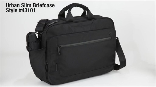 Travelon Anti-Theft Urban Messenger Briefcase - eBags.com - image 10 from the video