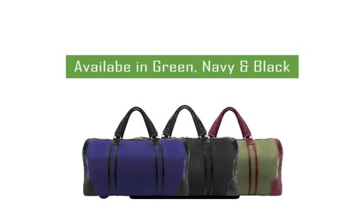 McKlein USA Pasadena Travel Duffel - image 10 from the video