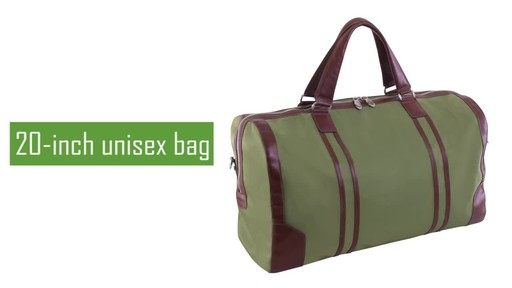 McKlein USA Pasadena Travel Duffel - image 2 from the video